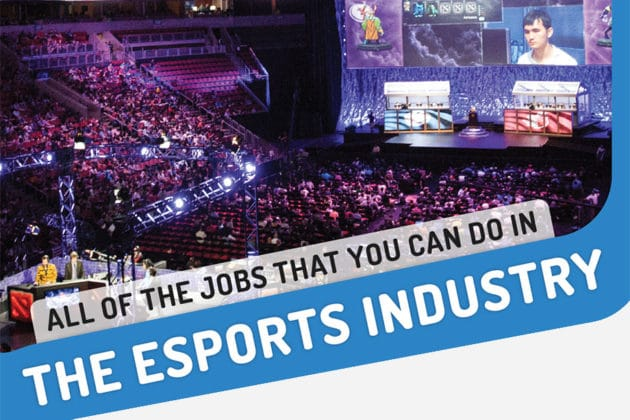 Career Opportunities in the eSports Industry (Infographic)