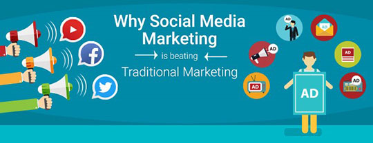 Why Social Media Marketing is beating Traditional Marketing