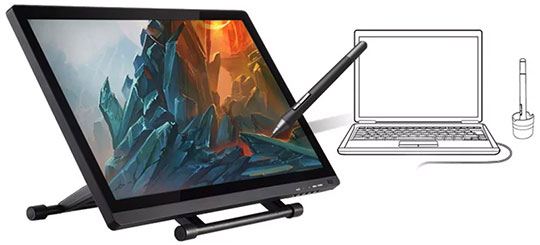 UGEE UG - 2150 Drawing Tablet with P50S Pen - 2