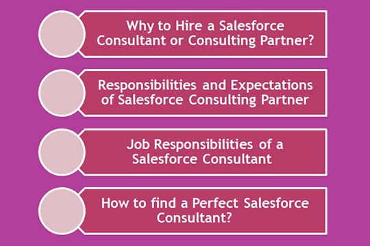 Role and Responsibilities of Salesforce Consultants Points