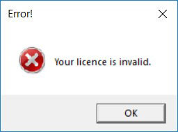 Microsoft Product Key Scam - invalid licence error