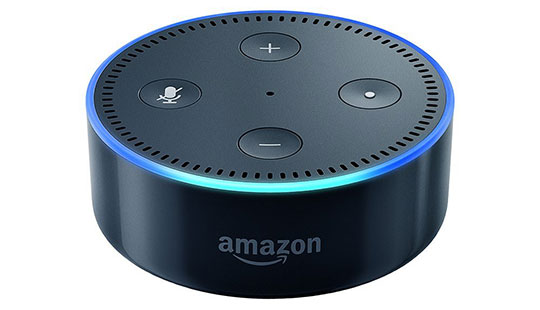 Amazon Echo Dot Alexa device