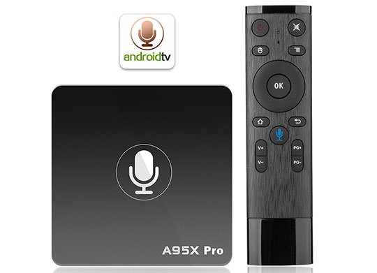 A95X PRO Android TV Box with Voice Control - 1