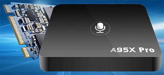 A95X PRO Android TV Box with Voice Control - 2