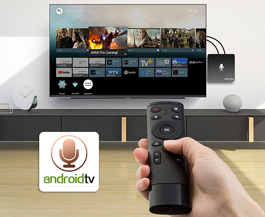 A95X PRO Android TV Box with Voice Control - 3