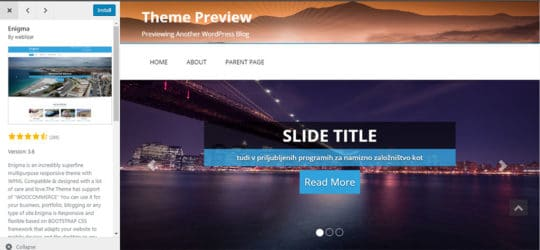 Building a Professional WordPress Website Using a Free Theme - 1