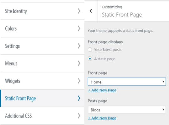 Building a Professional WordPress Website Using a Free Theme - 11