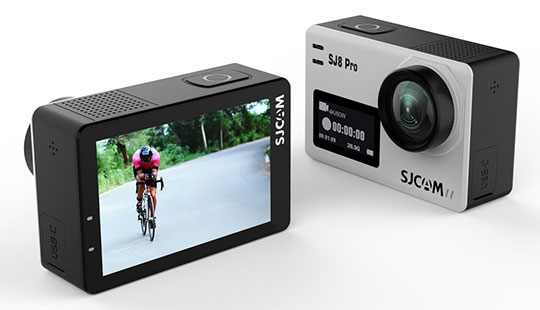 SJCAM SJ8 Pro 4K Wi-Fi Action Camera - 1