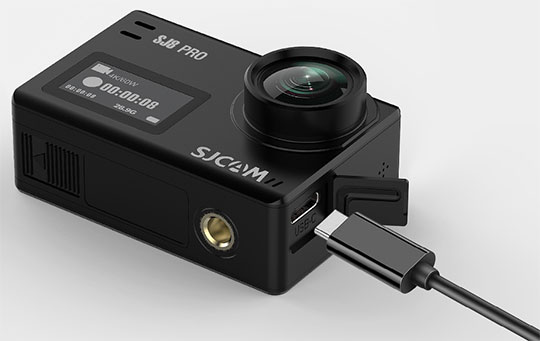 SJCAM SJ8 Pro 4K Wi-Fi Action Camera - 2