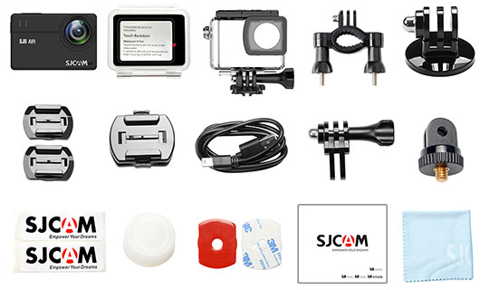 SJCAM SJ8 Pro 4K Wi-Fi Action Camera - 6