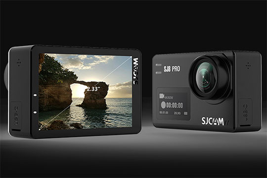 SJCAM SJ8 Pro 4K Wi-Fi Action Camera