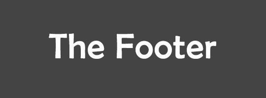 the-footer