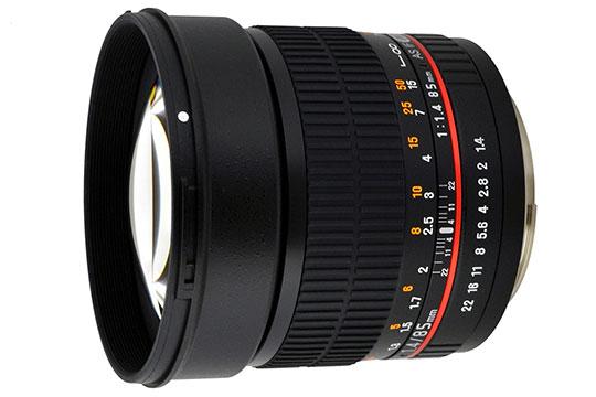 Rokinon 85mm f/1.4 AS IF UMC Lens