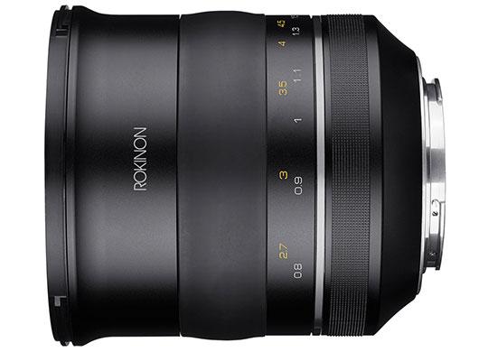 Rokinon SP 85mm f/1.2 Lens