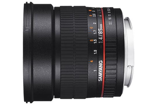 Samyang 85mm f/1.4 Aspherical Lens