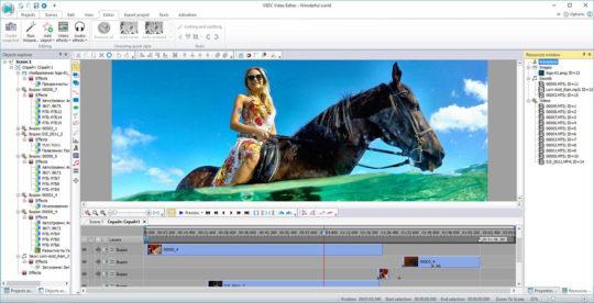 VSDC Free Video Editor Screenshot 1