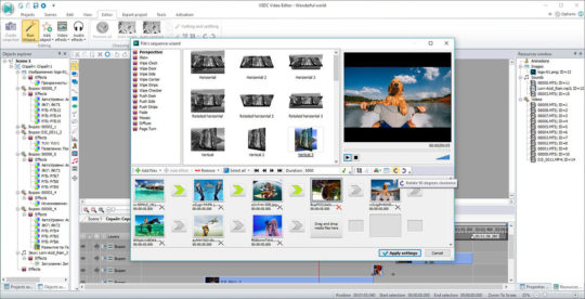 VSDC Free Video Editor Screenshot 2