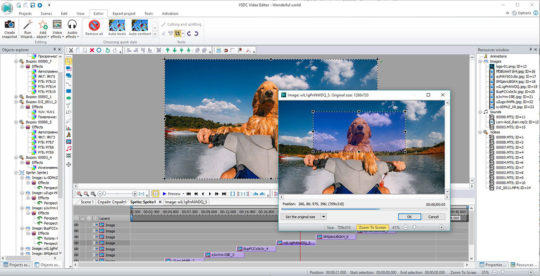 VSDC Free Video Editor Screenshot 3