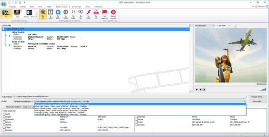 VSDC Free Video Editor Screenshot 5