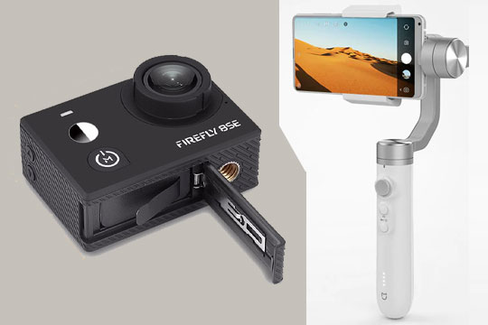 Hawkeye Firefly 8SE & Xiaomi Mijia SJYT01FM - A Great Combo for Action Video Shooting