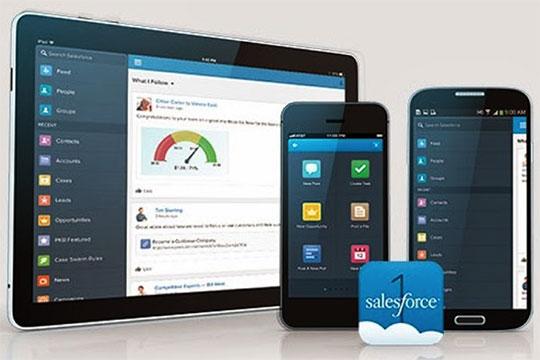 Rich Salesforce Mobile Application Development Platforms