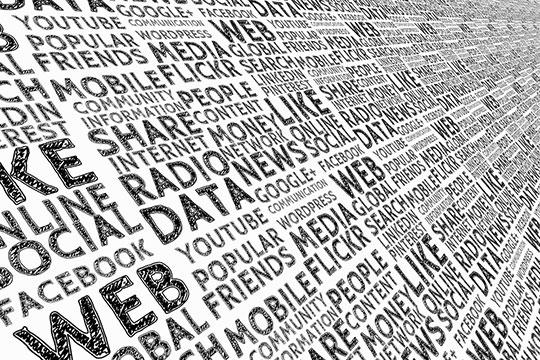 web-data-social-media