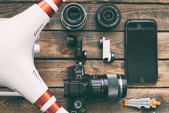 Technology-Camera-Drone-Gear-Lens-Gadgets