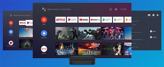 Xiaomi Mi Box S Android TV Box - 1