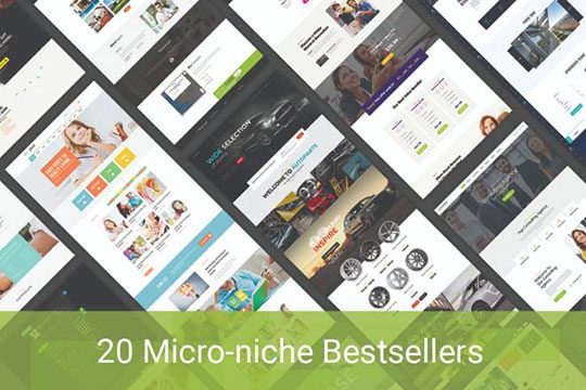 Best Selling Micro Niche WordPress Themes