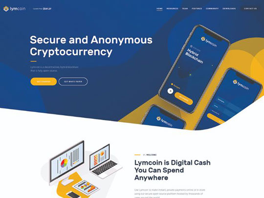 lymcoin-cryptocurrency-mining-wordpress-theme