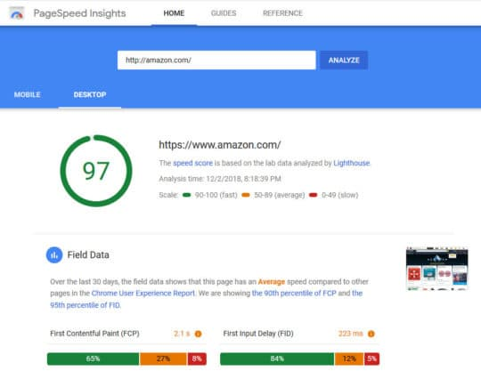 Google-PageSpeed-Insights-tool