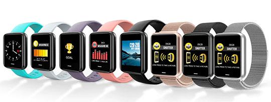 Alfawise H19 Smartwatch Fitness Tracker