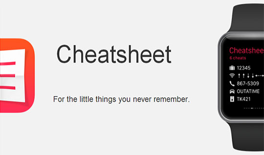 CheatSheet-app
