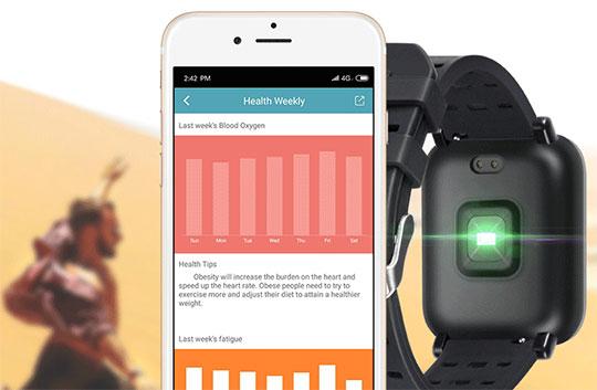Gocomma A6 Smartwatch - 2