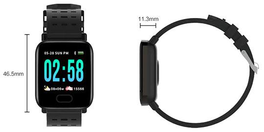 Gocomma A6 Smartwatch - 6