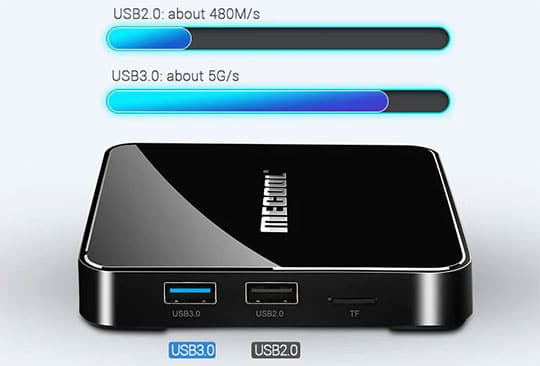 MECOOL KM3 Android Voice Control TV Box - 5