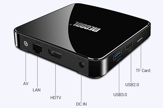 MECOOL KM3 Android Voice Control TV Box - 7