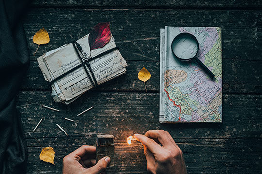 Travel-Explore-Map-Note-Address-Location