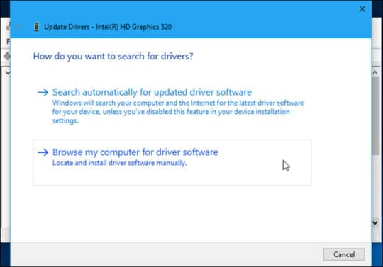 Windows 10 Update drivers