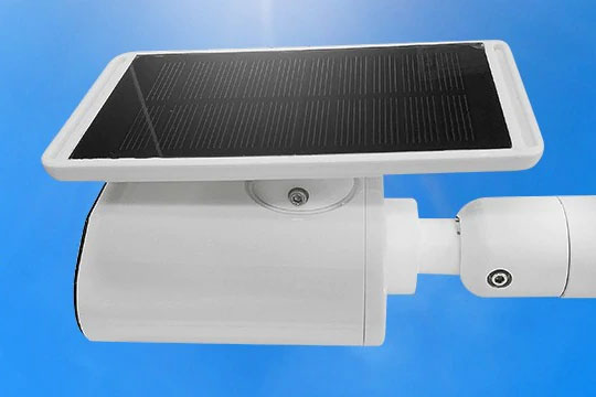Bilikay L4 Plus Solar-Powered Outdoor Surveillance Bullet Camera - 1