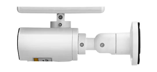 Bilikay L4 Plus Solar-Powered Outdoor Surveillance Bullet Camera - 3