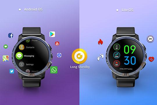 Kospet Optimus Pro Android Smartwatch Phone - 2
