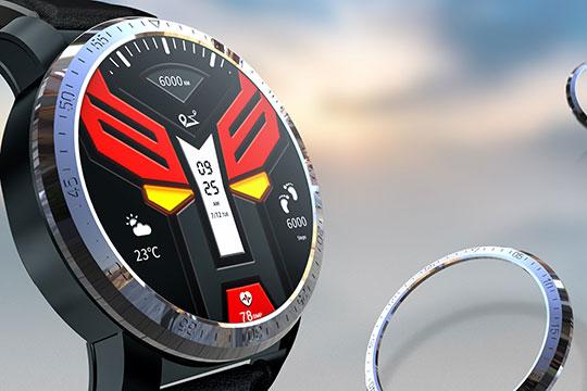 Kospet Optimus Pro Android Smartwatch Phone - 5