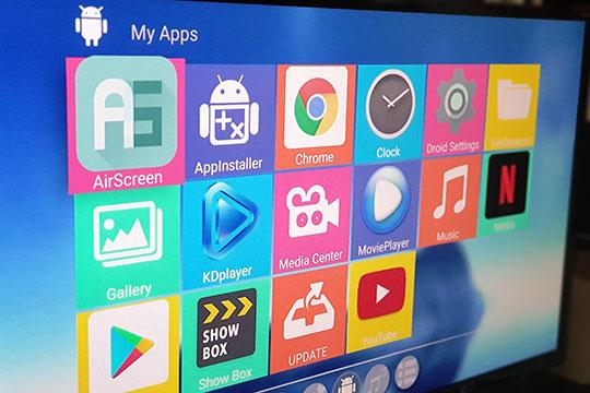 Alfawise A9X S905X2 (4GB+32GB) HD TV Box - 6