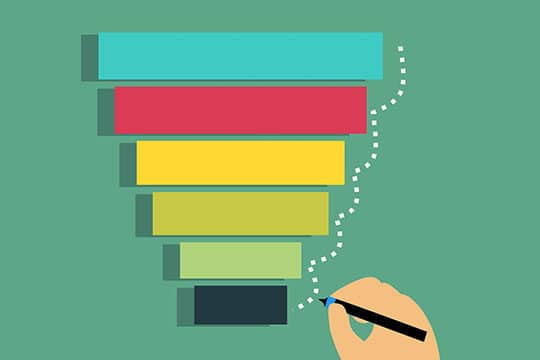 marketing-plan-funnel-chart-color-design-information-lead-optimization-sale-strategy-target
