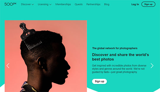 500px - the Image Sharing Sites