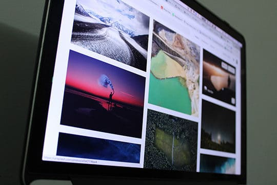 Browser-Gallery-Tech-Digital-Images-Grid-Photos-Pictures