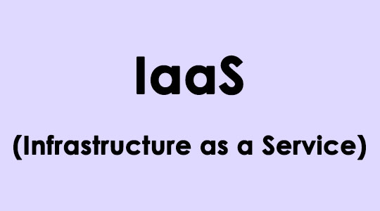 IaaS-Infrastructure-as-a-Service