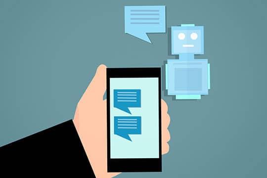 chatbot-app-artificial-message-robot-talk-technology
