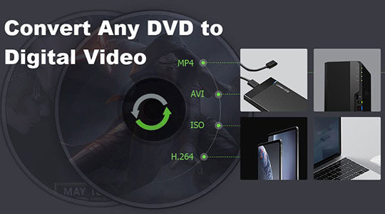 How to Convert Old & New DVD to Digital Videos Flawlessly?